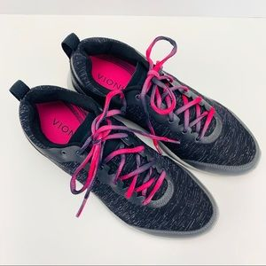 Vionic FYN Sneakers Ombre Pink Laces